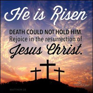 Jesus is Lord He is Risen