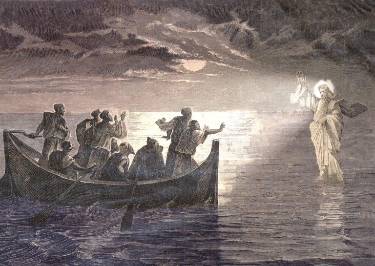 Jesus walks on water News of Joy faith supernatural God